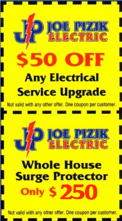 Electric Service Upgrade Discount-Whole House Surge Protector Coupons