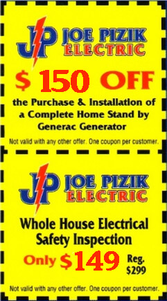 Home Generator Discount-Electrical Safety Inspection Coupon-Michigan