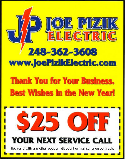 Discount Coupons for Michigan Electrical Services